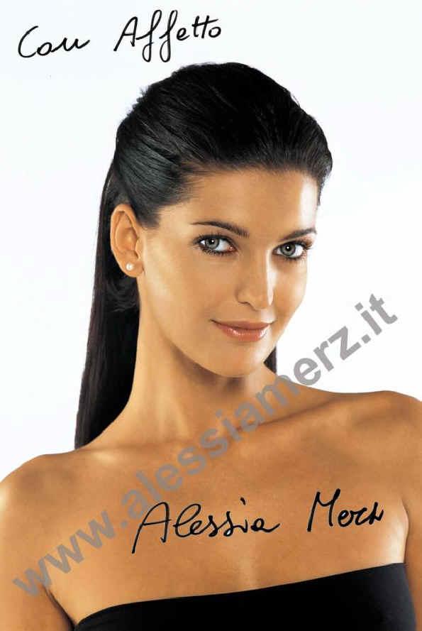 Samantha De Grenet Calendario 2002.Alessia Merz